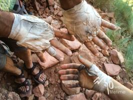 Crack hands, Indian Creek.