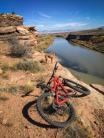 Mountain biking in Fruita.