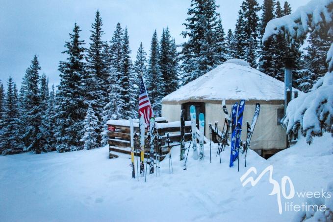 February hut trip.