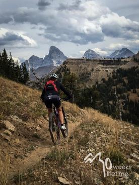 Mountain biking, Grand Targhee, Idaho.
