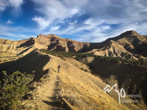 Mountain biking, Fruita, CO.