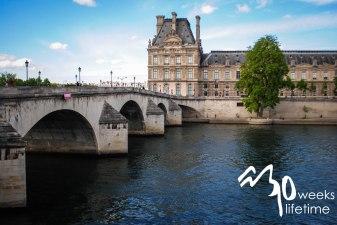 Bridge to the Louvre.