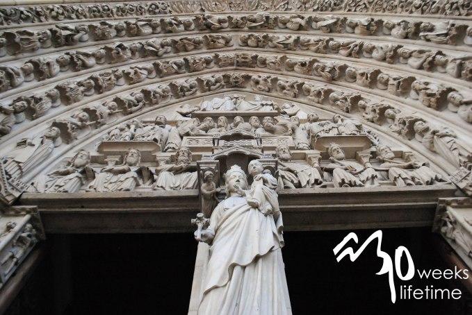 Tour of Notre Dame.